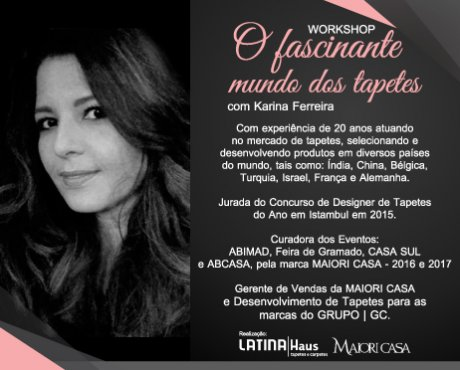 Evento Latina Haus: Workshop